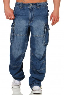 Jeans cargo pants Safety A denim  long