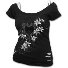 Girls t-shirt PURE OF HEART