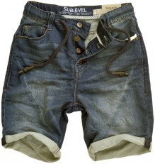 Sublevel Jogg Jeans Shorts Davin