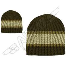 Stripes Crochet Beanie