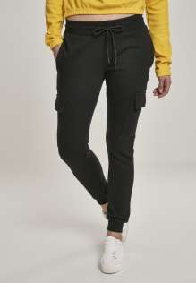 Ladies Cargo Sweat Pants