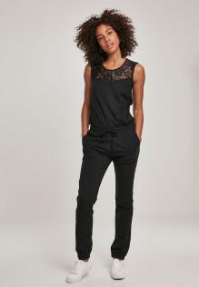 Ladies Lace Block Jumpsuit BROOKE