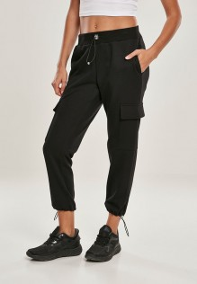 Ladies Cargo Terry Pants Urban Clasic Sienna